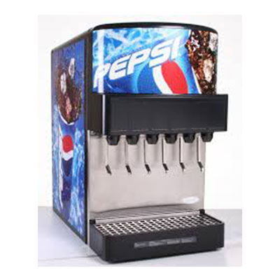 soda fountain Pepsi Products
