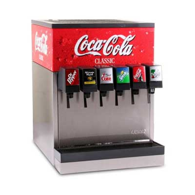 soda fountain Coca-Cola Products